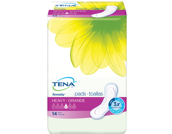 TENA® Serenity® Pads Heavy Regular 1 Pack - 14 Count