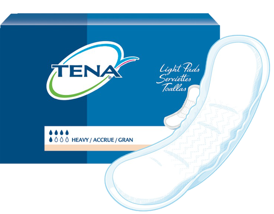 TENA Light Pads Heavy