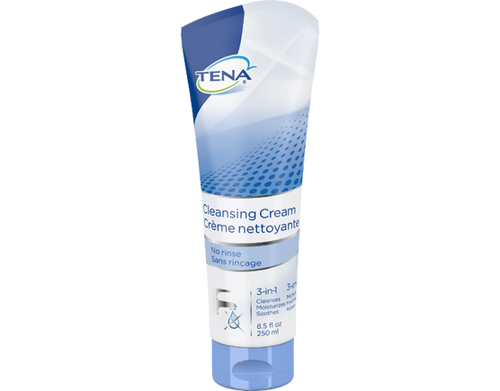 TENA Cleansing Cream Tube - 1 Bottle 8.5 fl oz