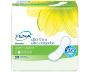 TENA® Serenity® Light Ultra Thin Pads Regular 1 Pack - 30 Count