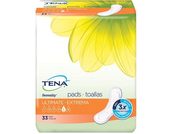 TENA® Serenity® Ultimate Pads 1 Pack - 10 Count