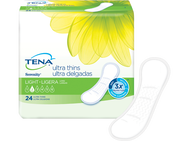 TENA® Serenity® Light Ultra Thin Pads Long 1 Pack - 24 Count