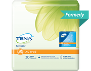 TENA Serenity Light Ultra Thin Pads Regular 1 Pack - 30 Count