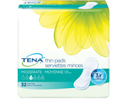 TENA® Moderate Thin Pads Long
