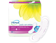 TENA Pads Heavy Long 1 Pack - 12 Count