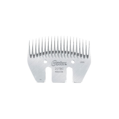 Oster® 20-Tooth Blocking and Carving Comb