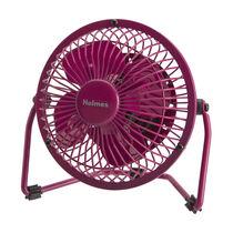 "Holmes®  Metal 4"" USB Fan - Pink"