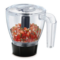 Oster® Rapid Blend™ 300 Blender PLUS Food Chopper - Metallic Red - Glass Jar