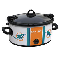 Miami Dolphins NFL Crock-Pot® Cook & Carry™ Slow Cooker