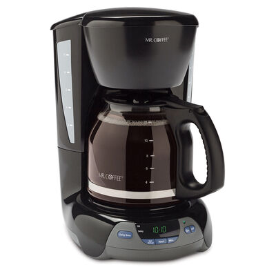 Mr. Coffee® Simple Brew 12-Cup Programmable Coffee Maker Black