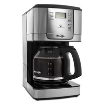 Mr. Coffee® JWX Series 12-Cup Programmable Coffeemaker, Stainless Steel, JWX31-RB