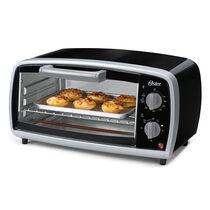 Oster® 4-Slice Toaster Oven, Black