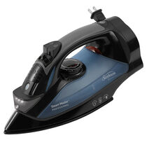 Sunbeam® GreenSense™ SteamMaster® Full Size Professional Iron with Retractable Cord and ClearView™, Black