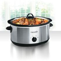 Crock-Pot® 8-Quart Manual Slow Cooker, Stainless Steel