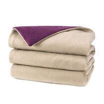 Sunbeam® Fleece Reversible Heated Throw