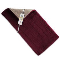 Sunbeam® King Size XpressHeat™ Heating Pad, Burgundy