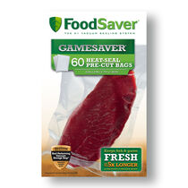 "FoodSaver® GameSaver® 11""x14"" Gallon Heat-Seal Bags, 60  Count"