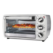 Oster® 6-Slice Convection Countertop Oven, Brushed Stainless Steel