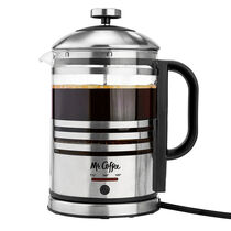 Mr. Coffee® Electric French Press + Hot Water Kettle