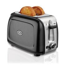 Oster® 2-Slice Toaster, Black Metallic