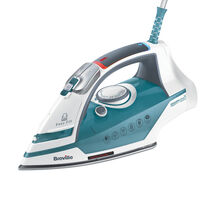 Power Steam 2400w Steam Iron, Ceramic Soleplate