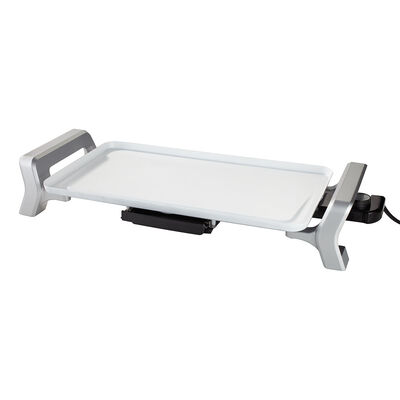 """Oster® DuraCeramic™ Infusion Series 10.5"""" x 18.5"""" Electric Griddle, White"""
