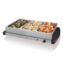 Oster® Large Triple Warming Tray Buffet Server