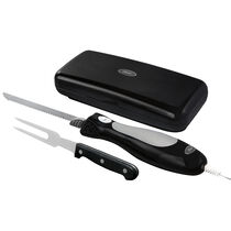 Oster® Electric Knife with Carving Fork and Storage Case, Black