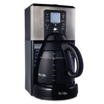 Mr. Coffee® Performance Brew 12-Cup Programmable Coffee Maker Stainless Steel, FTX41-NP