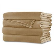 Sunbeam® Full Royalmink™ Heated Blanket, Honey