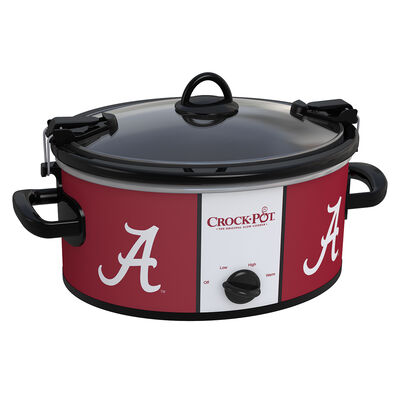 Alabama Crimson Tide Collegiate Crock-Pot® Cook & Carry™ Slow Cooker