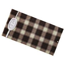 Sunbeam® Moist / Dry Heat Heating Pad with Auto-Off, King Size, Plaid