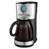 Mr. Coffee® Performance Brew 12-Cup Programmable Coffee Maker, Stainless Steel/Stainless Steel Base, BVMC-VMX37