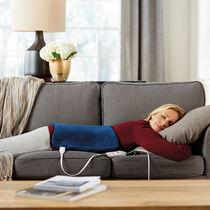 Sunbeam® XpressHeat™ XL Hourglass-Shaped Heating Pad, Newport Blue