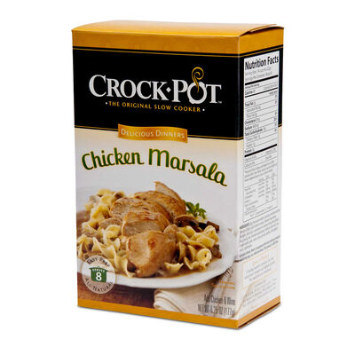 Crock-Pot® Delicious Dinner, Chicken Marsala