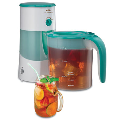 Iced Tea Maker, 3-Qt., Teal