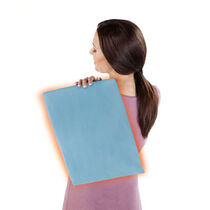 Sunbeam® Heating Pad with UltraHeat™ Technology, Light Blue