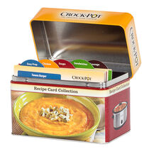 Crock-Pot® Slow Cooker Recipe Card Collection