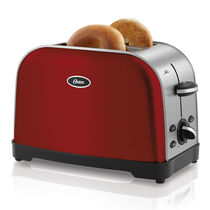 Oster® 2-Slice Toaster, Red Metallic