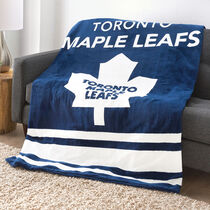Sunbeam® NHL® Microplush Heated Throw, Toronto Maple Leafs®