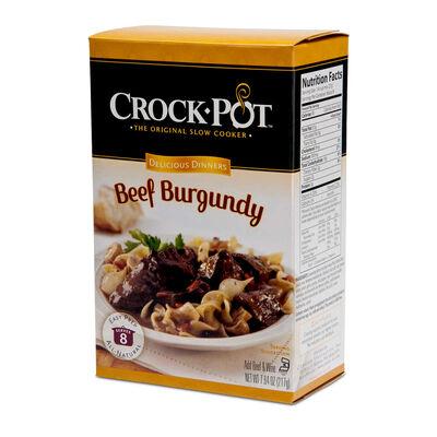 Crock-Pot® Delicious Dinner, Beef Burgundy
