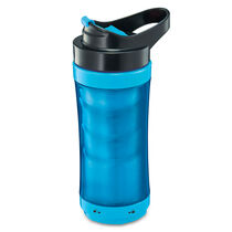 Mr. Coffee® Pour! Brew! Go! Travel Mug - Blue