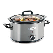 Crock-Pot 3.5L Slow Cooker, Stainless Steel