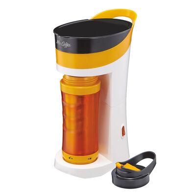 Mr. Coffee® Pour! Brew! Go! Personal Coffee Maker - Orange