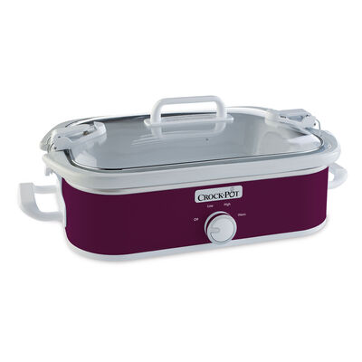 Crock-Pot® Casserole Crock Slow Cooker, Cranberry