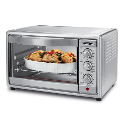 Oster® 6-Slice Convection Toaster Oven, Brushed Stainless Steel