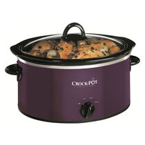 Crock-Pot 3.5L Damson Slow Cooker