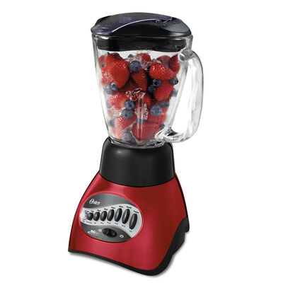 Oster® Precise Blend™ 200 Blender, Metallic Red