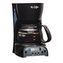 Mr. Coffee® Simple Brew 4-Cup Programmable Coffee Maker Black, DRX5-RB