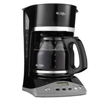 Mr. Coffee® Advanced Brew 12-Cup Programmable Coffee Maker, Black